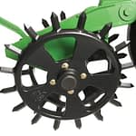 Spiked Closing Wheel